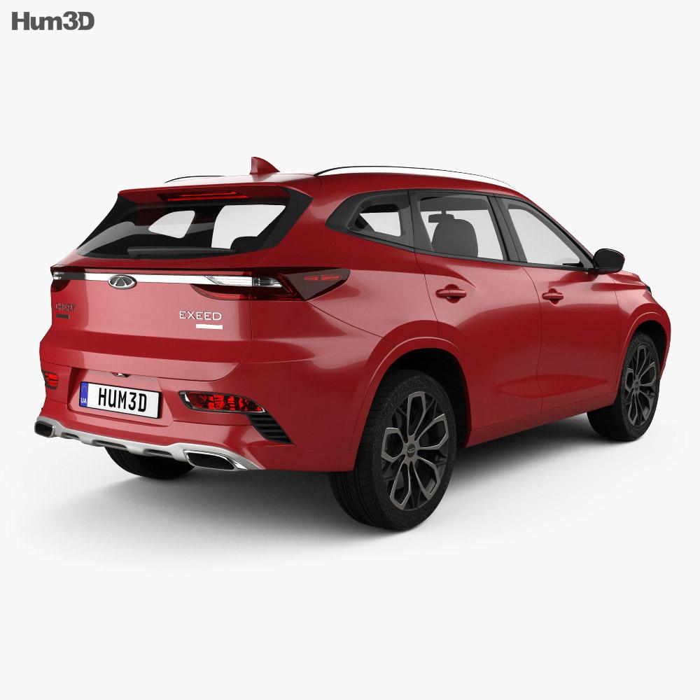 Chery Exeed TX 2018 3d model