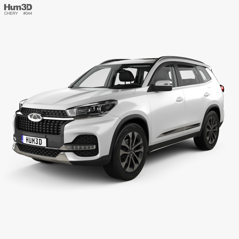 Chery Tiggo 8 with HQ interior 2018 3d model