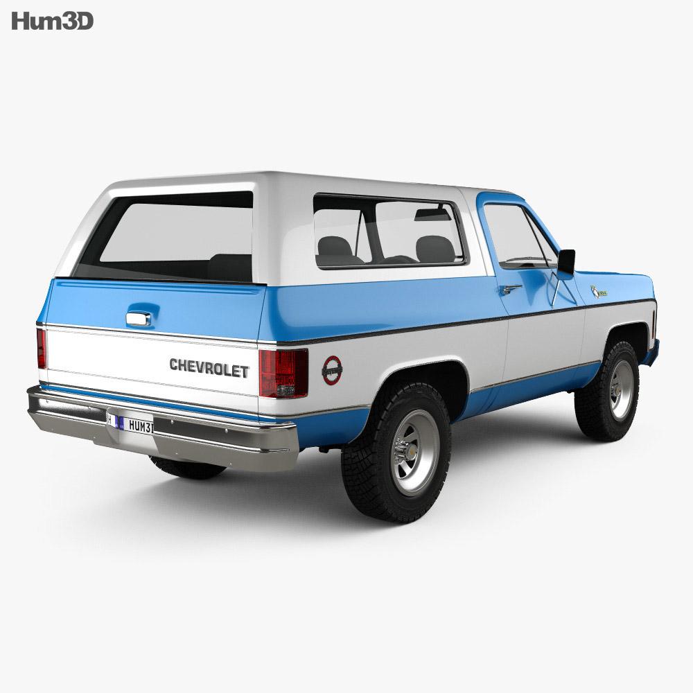 Chevrolet K5 Blazer 1976 3d model