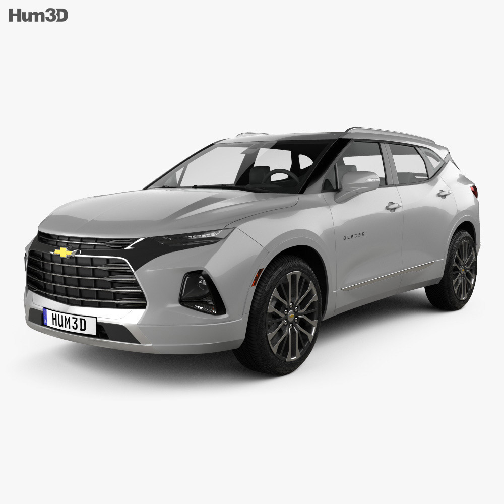 Chevrolet Blazer Premier 2019 3d model