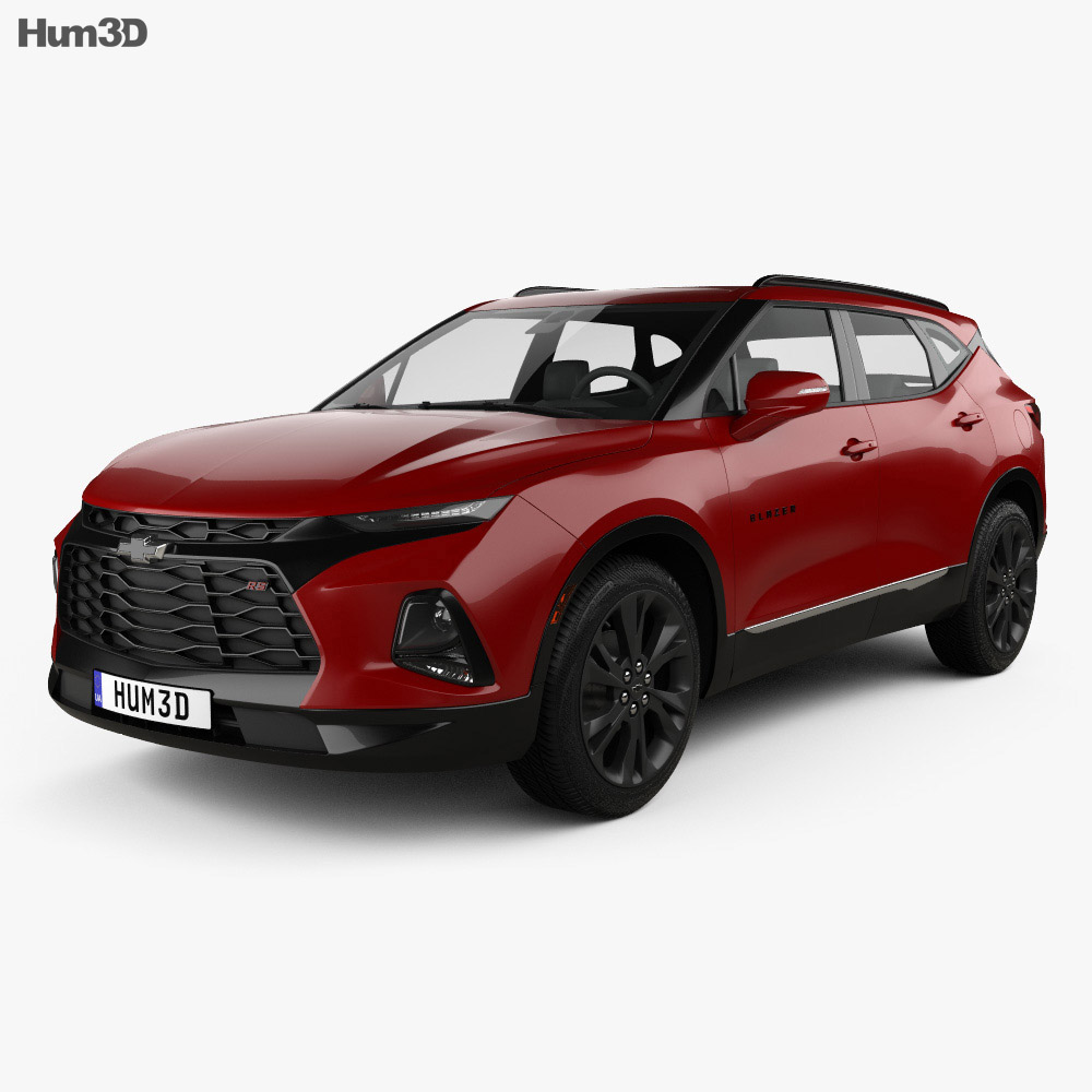 Chevrolet Blazer RS 2019 3D Model
