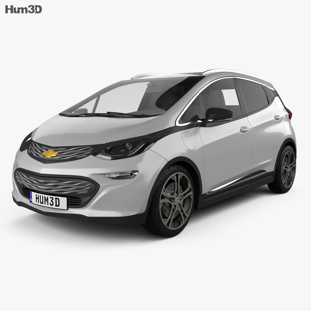 Chevrolet Bolt EV 2017 3D model - Humster3D