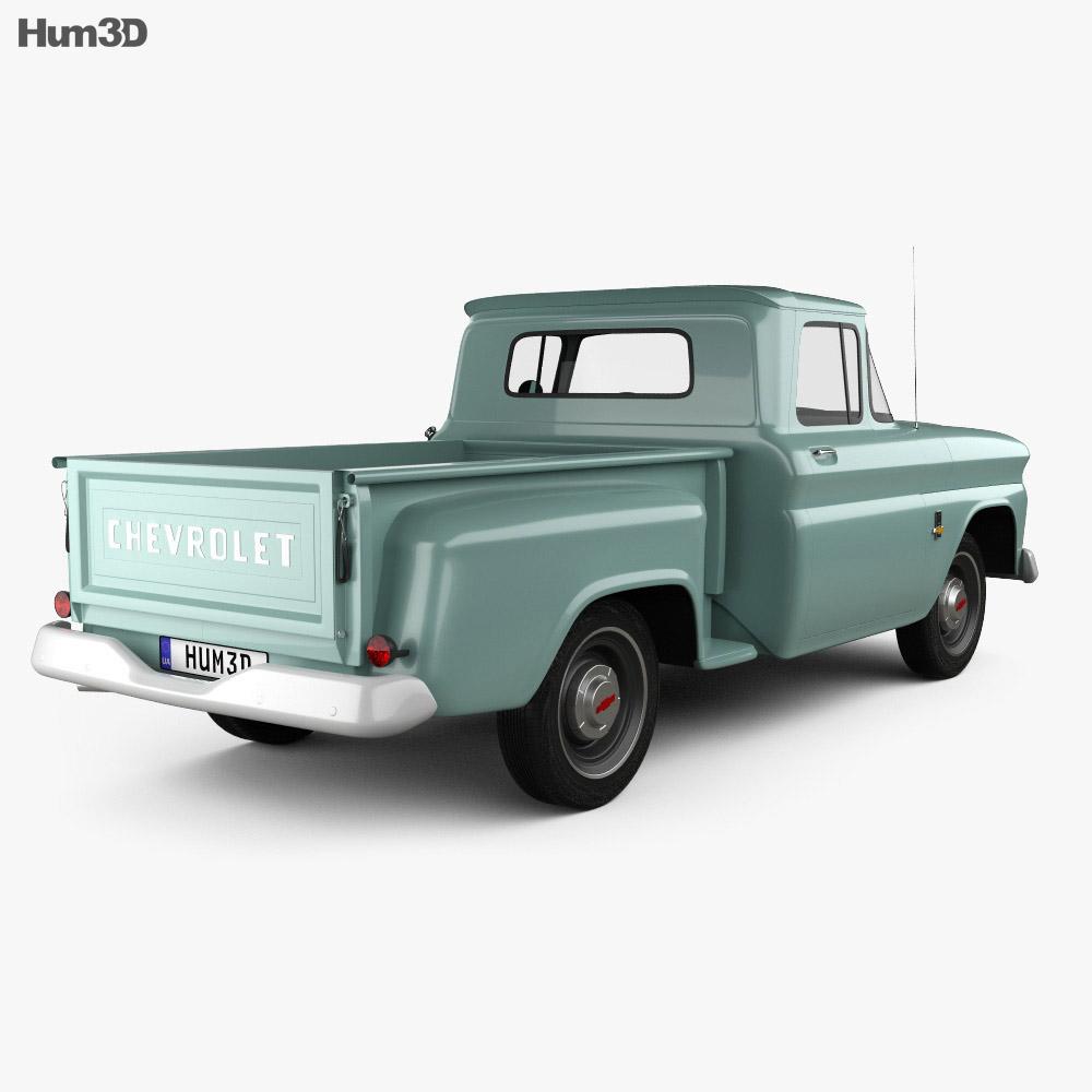 Chevrolet C10 (K10) 1963 3d model