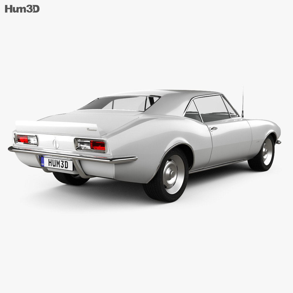 Chevrolet Camaro SS 1967 3d model