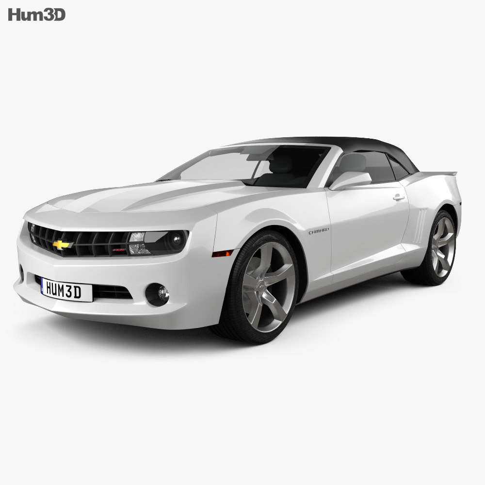 Chevrolet Camaro 2LT RS Convertible 2011 3d model