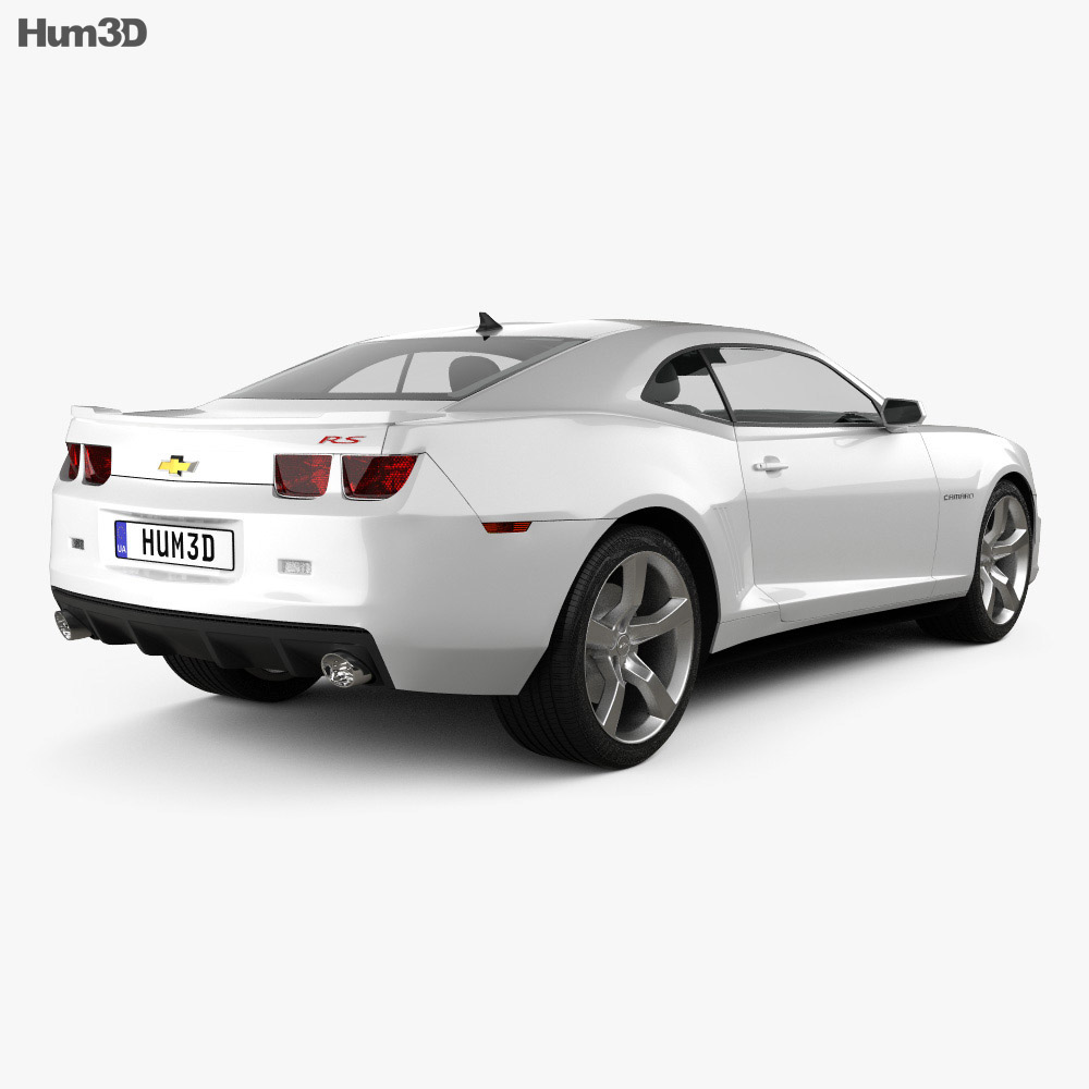 Chevrolet Camaro 2SS RS coupe 2011 3d model
