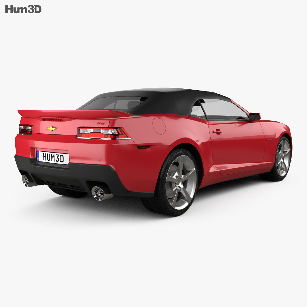chevrolet camaro ss convertible 2014 3d model hum3d. Cars Review. Best American Auto & Cars Review
