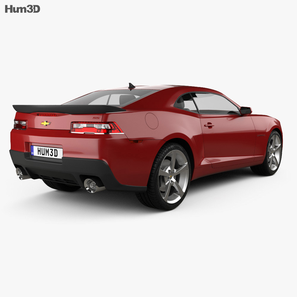 Chevrolet Camaro SS coupe 2014 3d model