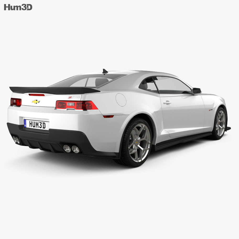 Chevrolet Camaro Z28 coupe 2014 3d model