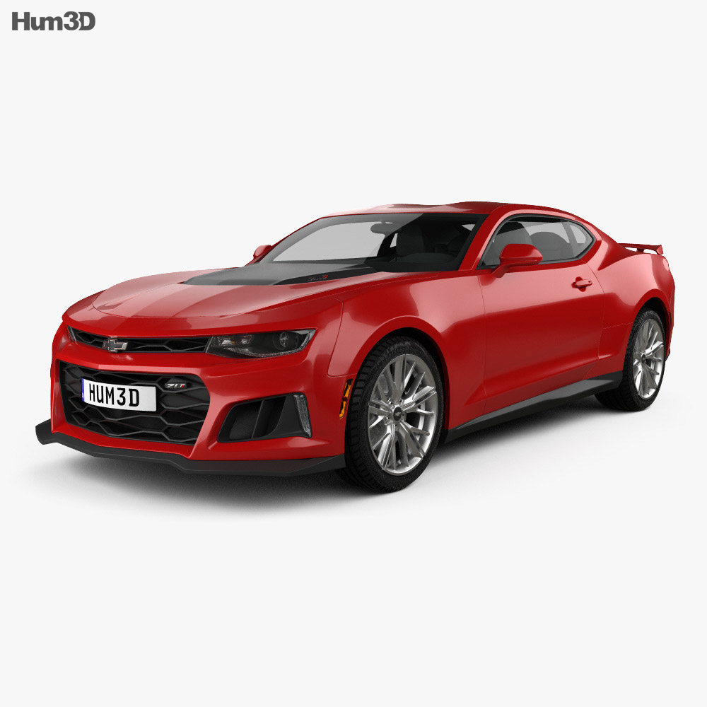 chevrolet camaro zl1 2016 3d model hum3d. Black Bedroom Furniture Sets. Home Design Ideas
