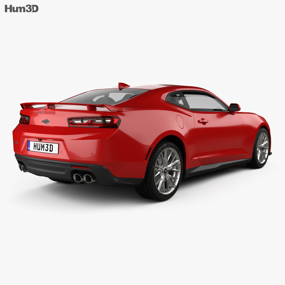 Chevrolet Camaro ZL1 2016 3D model - Hum3D