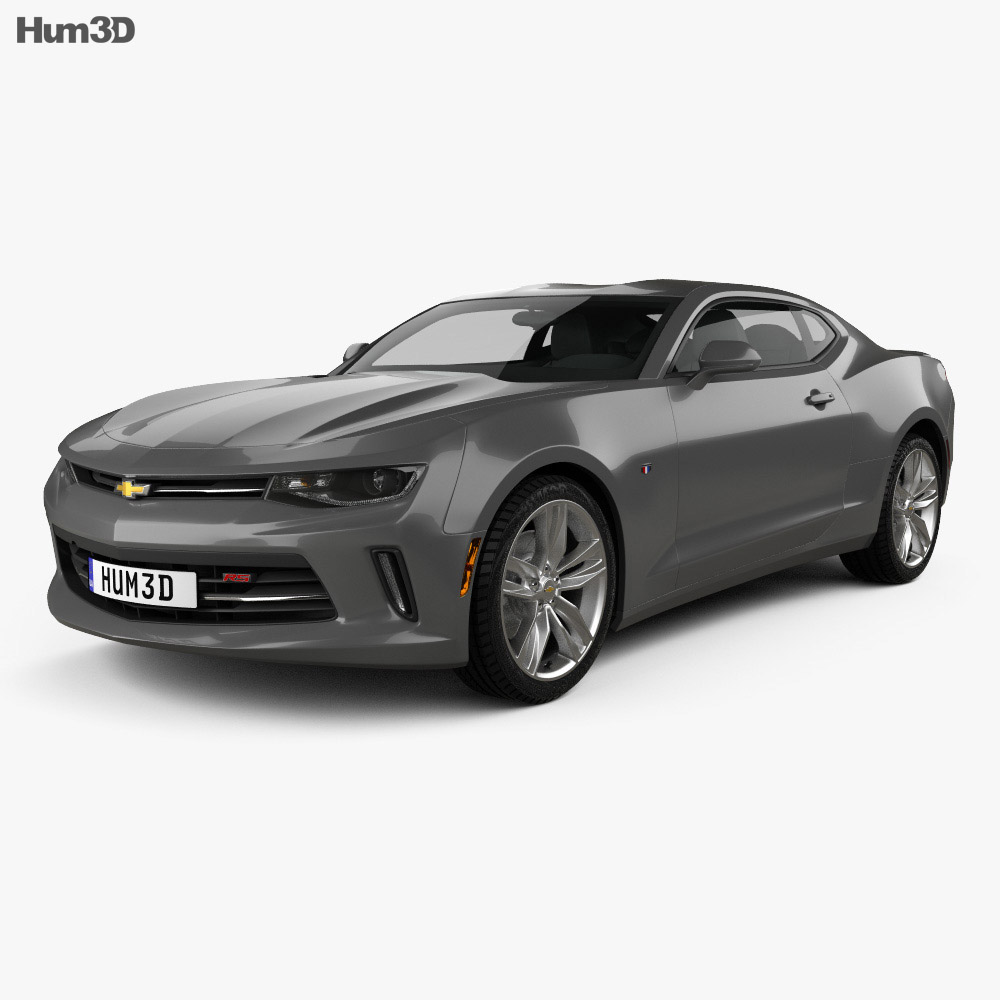 Chevrolet Camaro RS coupe 2016 3d model