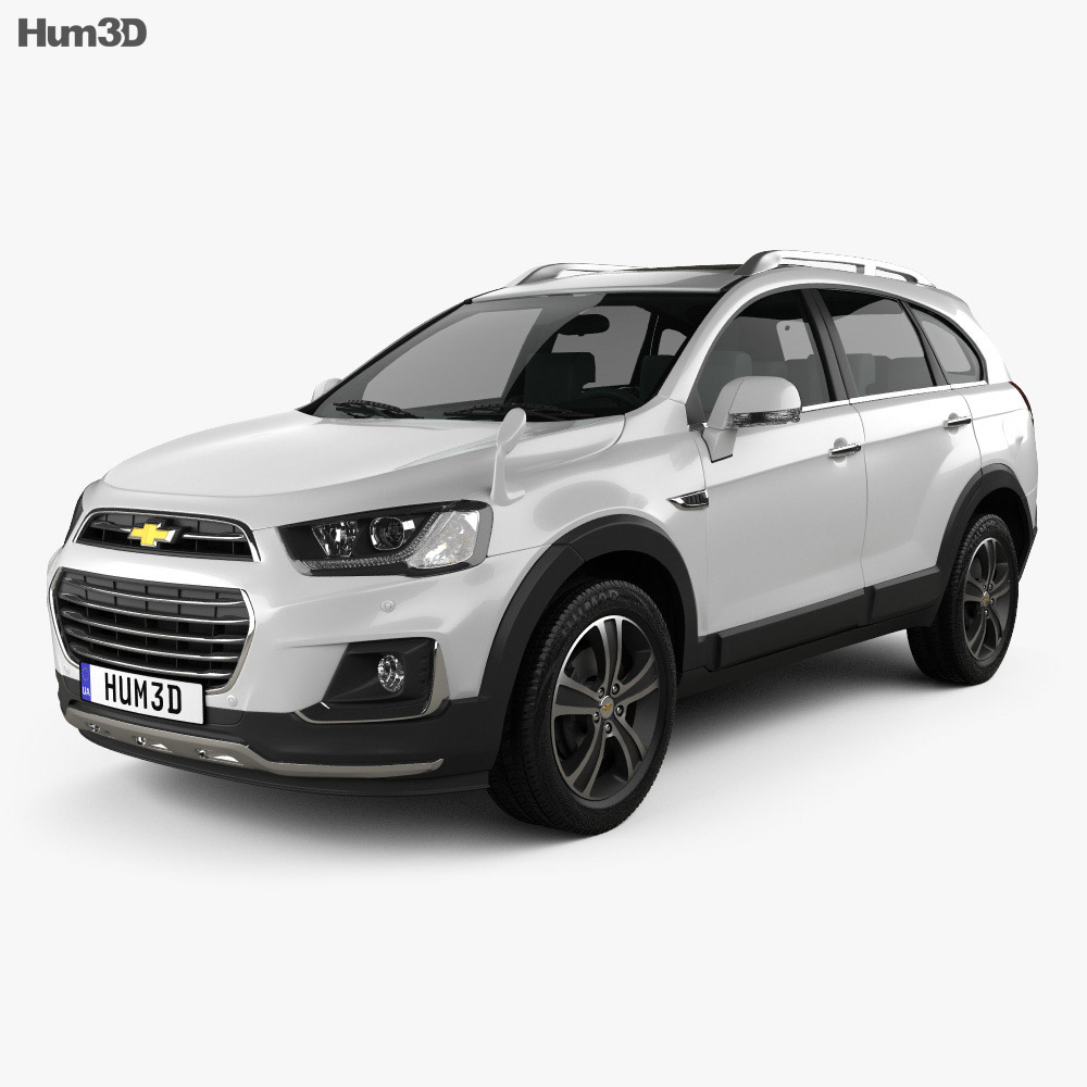 chevrolet captiva jp 2015 3d model hum3d. Black Bedroom Furniture Sets. Home Design Ideas