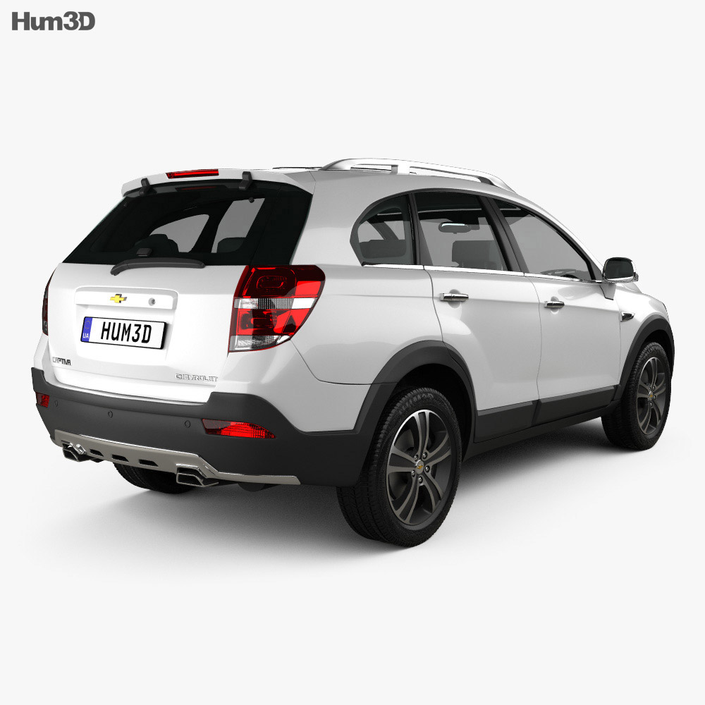 Chevrolet Captiva (JP) 2015 3d model