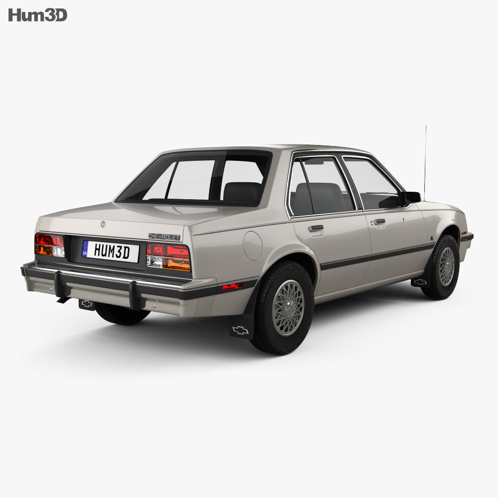 Chevrolet Cavalier sedan 1982 3d model