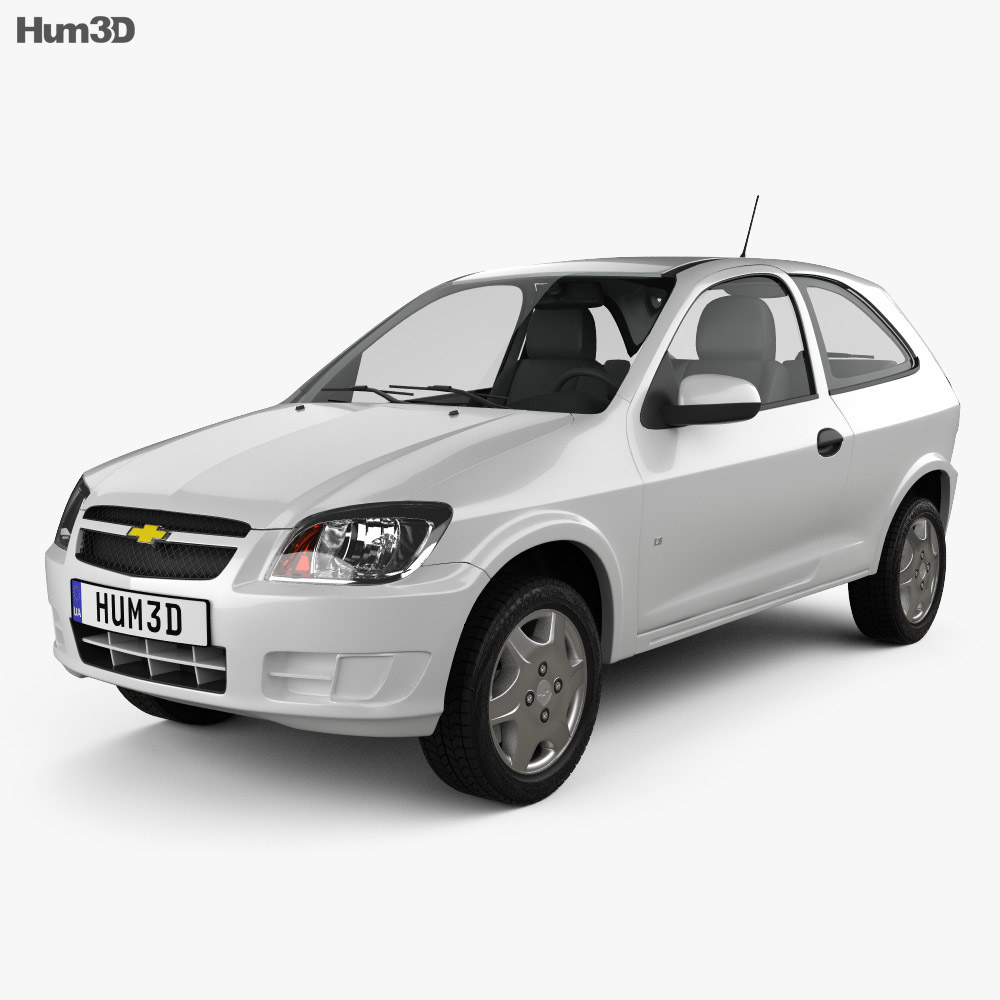 Chevrolet Celta 3-door hatchback 2011 3d model
