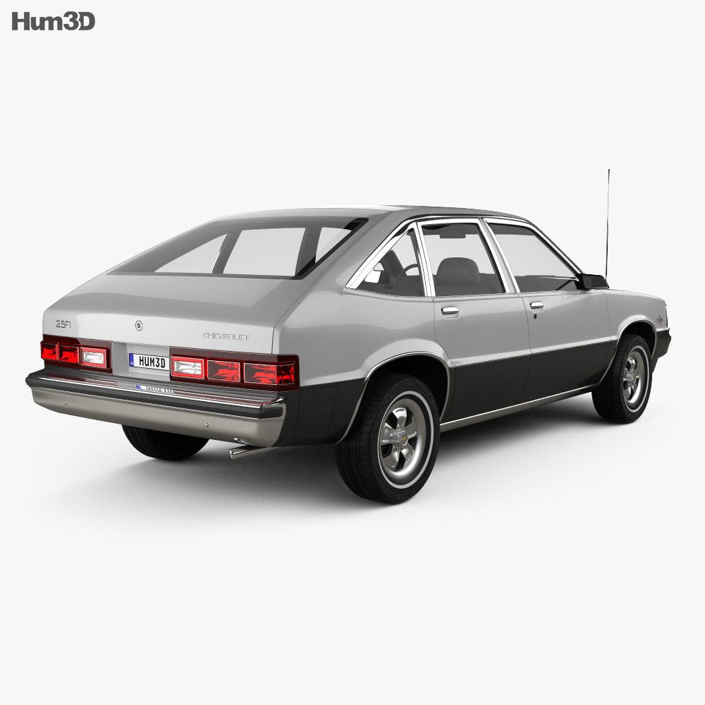Chevrolet Citation 1980 3d model back view