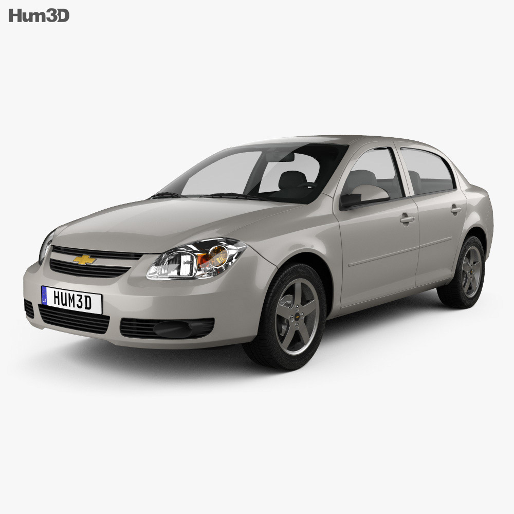 Chevrolet Cobalt sedan 2004 3d model