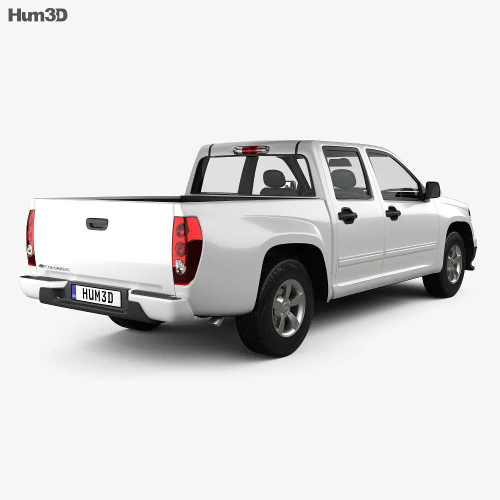 Chevrolet Colorado Crew Cab 2012 2012 3d model