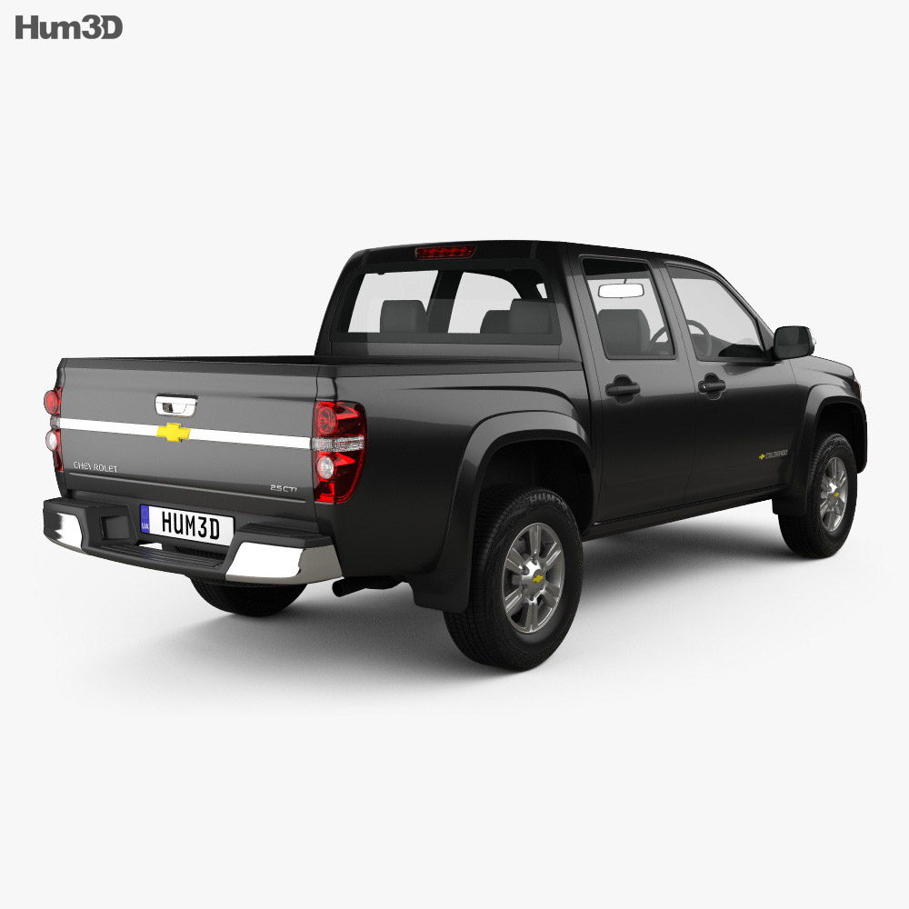 Chevrolet Colorado Crew Cab TH-spec 2008 3D Model