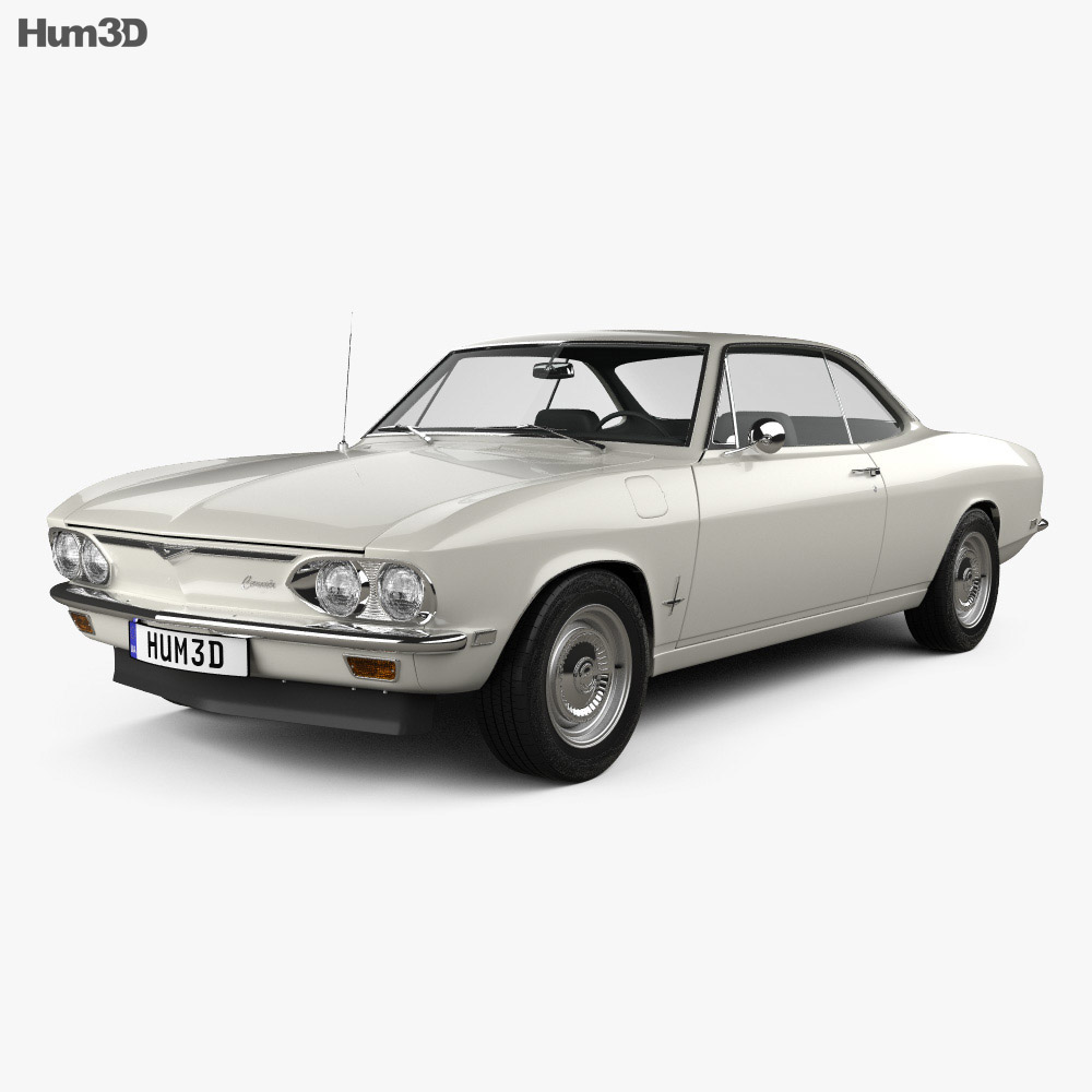 Chevrolet Corvair 1965 3d model