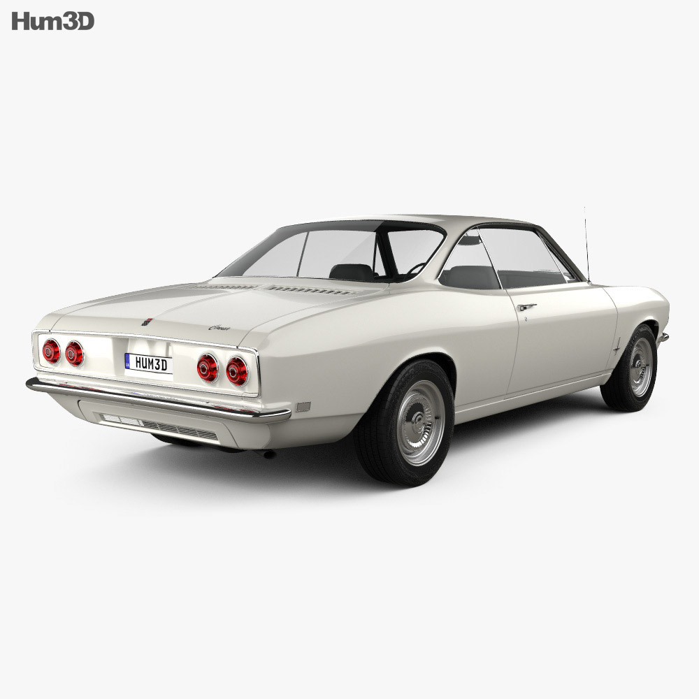 Chevrolet Corvair 1965 3d model