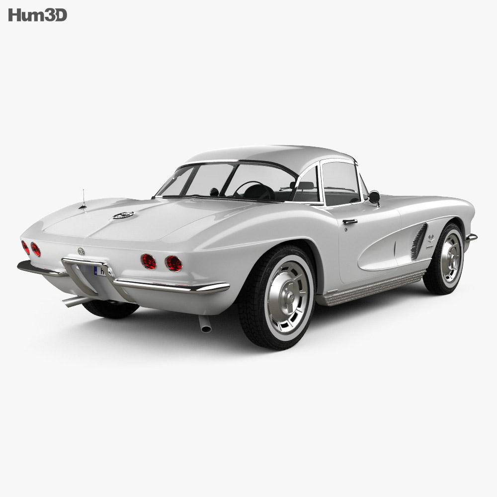 Chevrolet Corvette 1962 3d model
