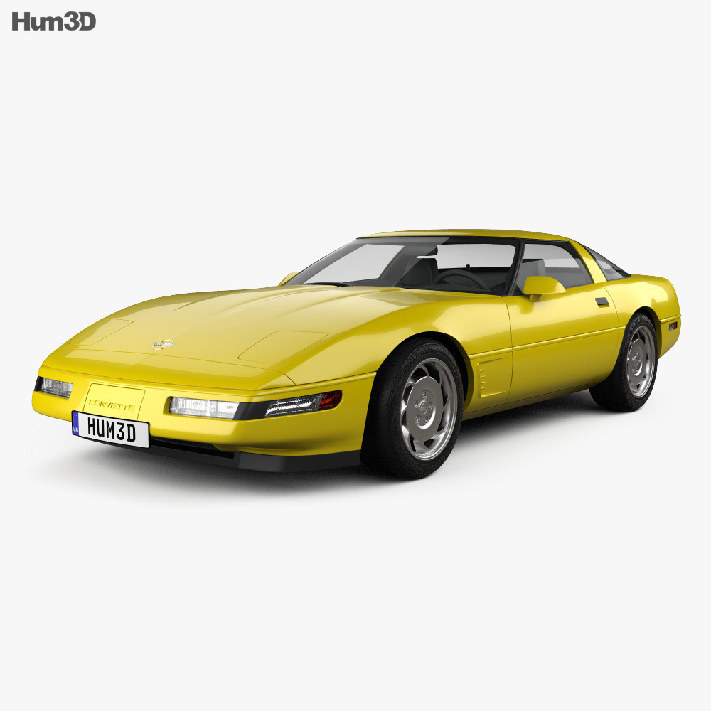 Chevrolet Corvette (C4) 1996 3D model