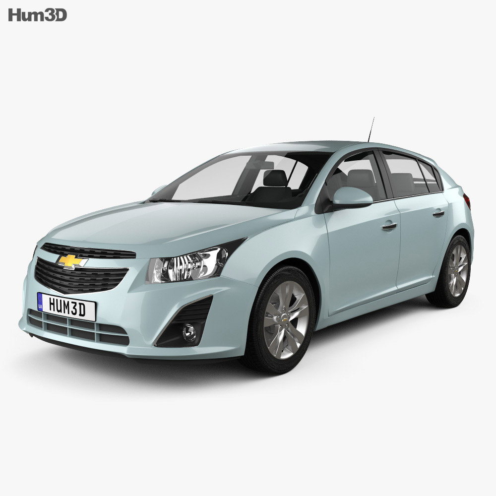 Chevrolet Cruze hatchback 2013 3d model