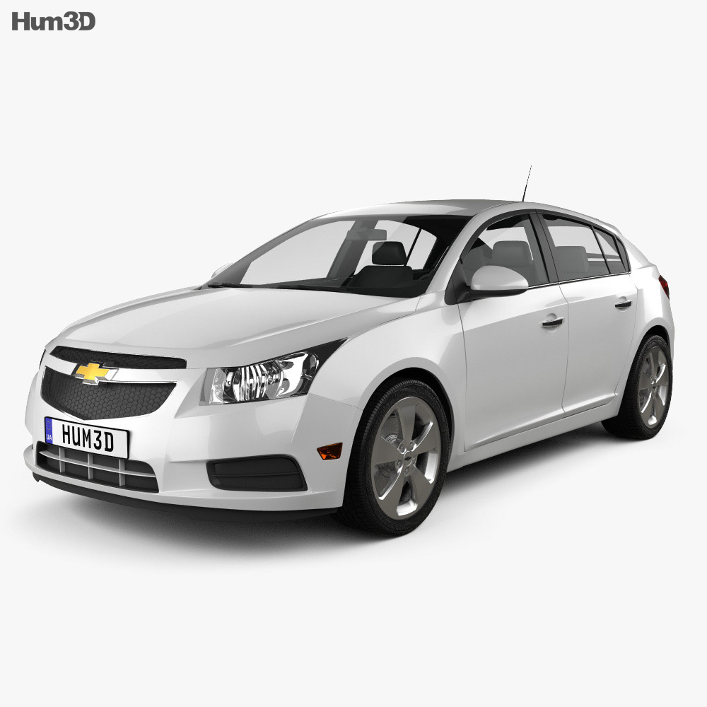 Chevrolet Cruze (J300) hatchback 2012 3d model