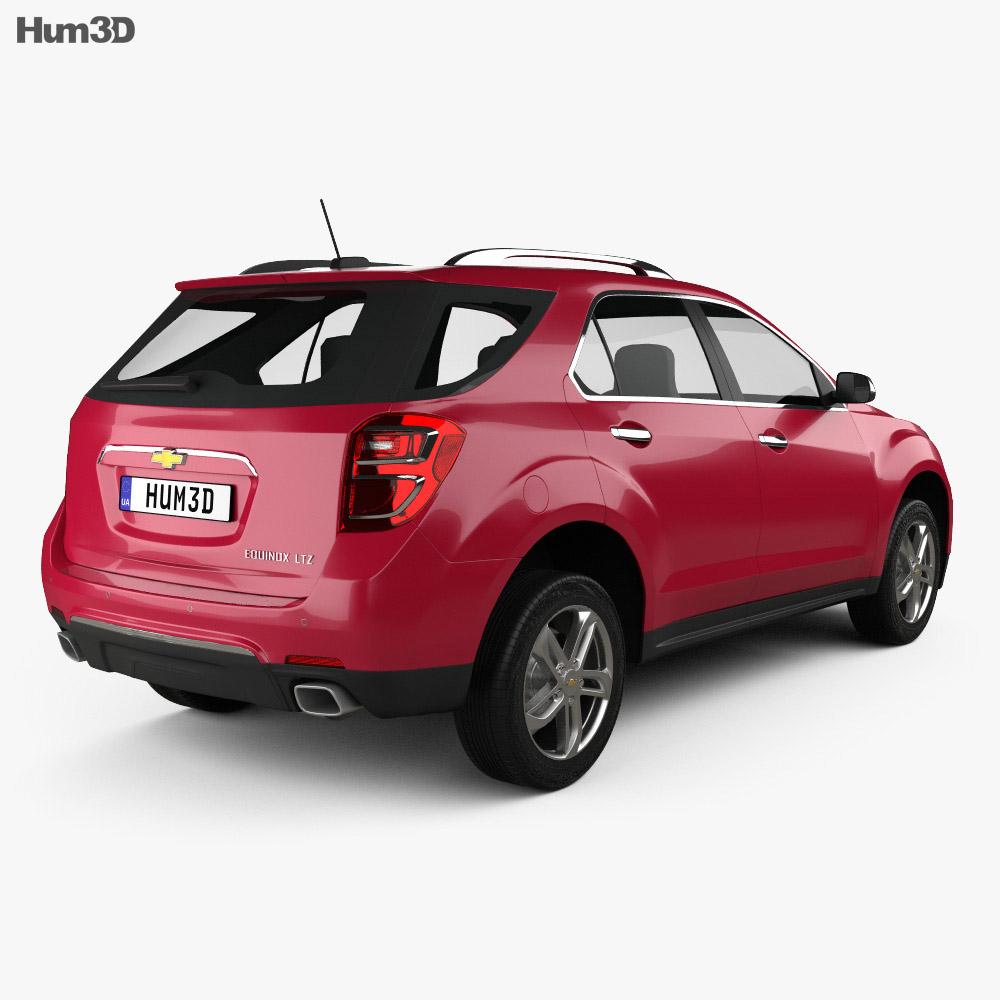chevrolet equinox 2016 3d model - hum3d