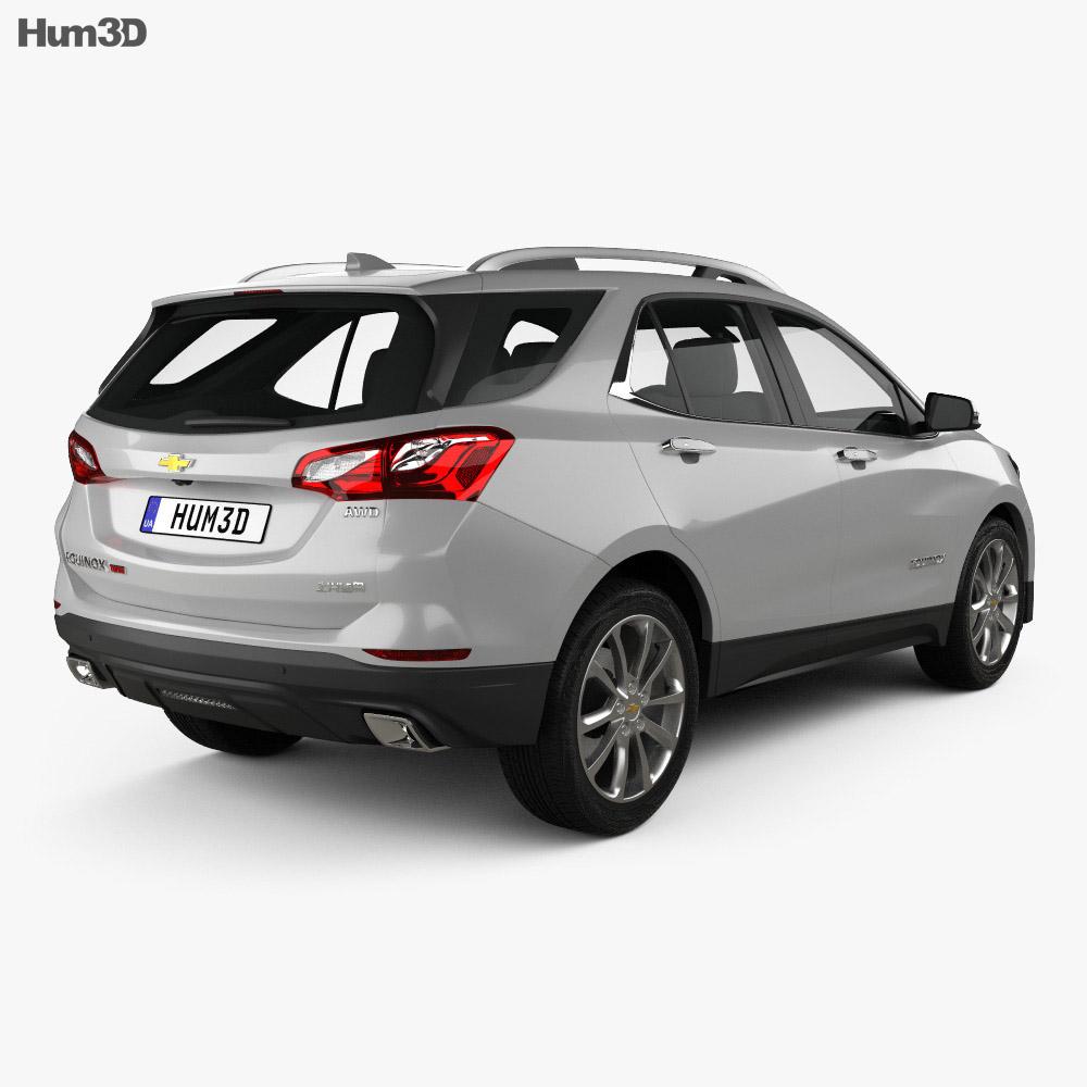 Chevrolet Equinox (CN) 2018 3d model