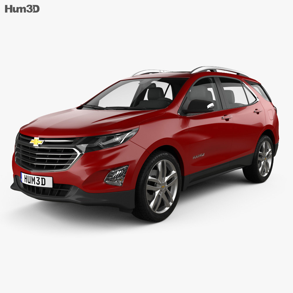 chevrolet equinox premier 2018 3d model hum3d. Black Bedroom Furniture Sets. Home Design Ideas