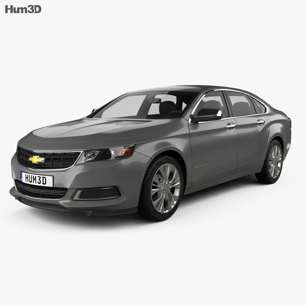 Chevrolet Impala LS 2014 3d model