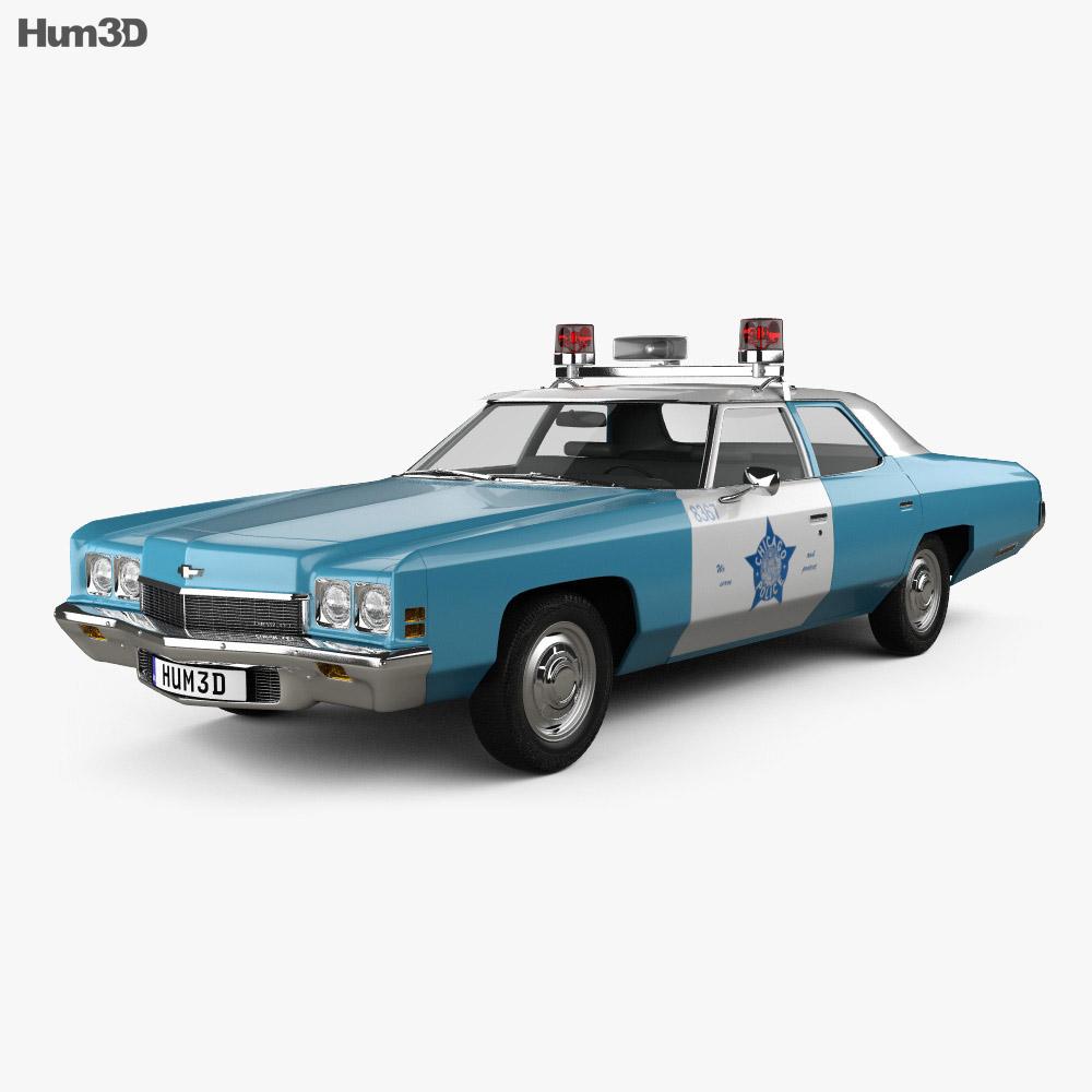 S Police Car Bluebrints