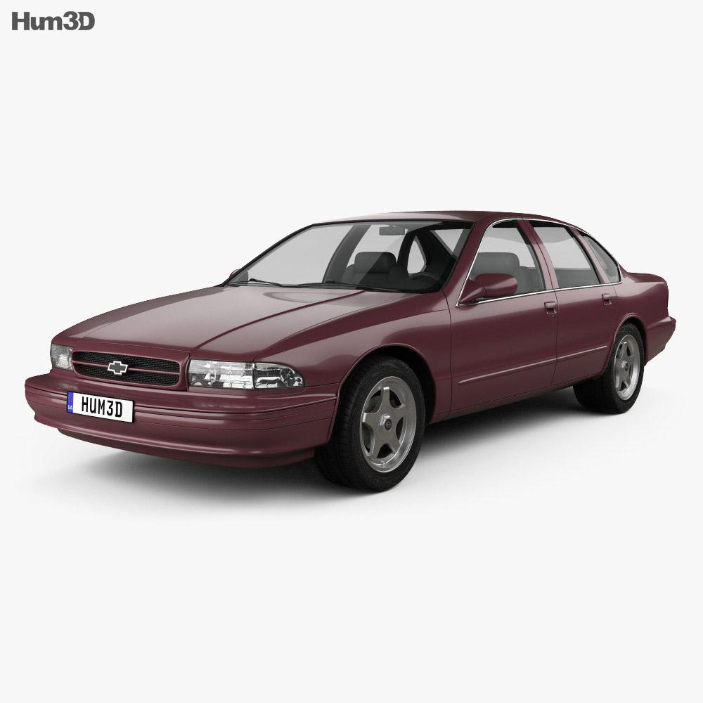 Chevrolet Impala SS 1995 3d model