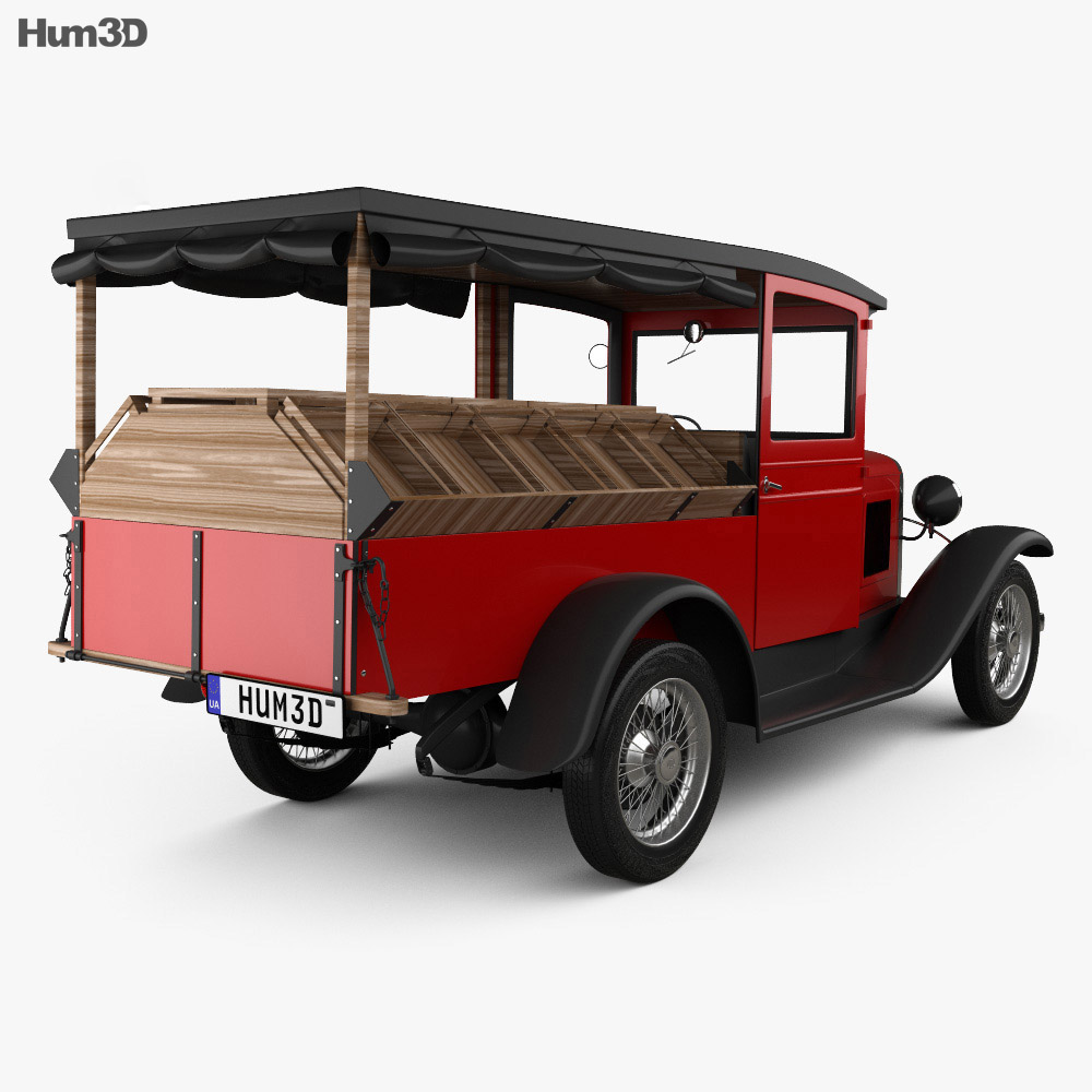 Chevrolet Independence Canopy Express 1931 3d model