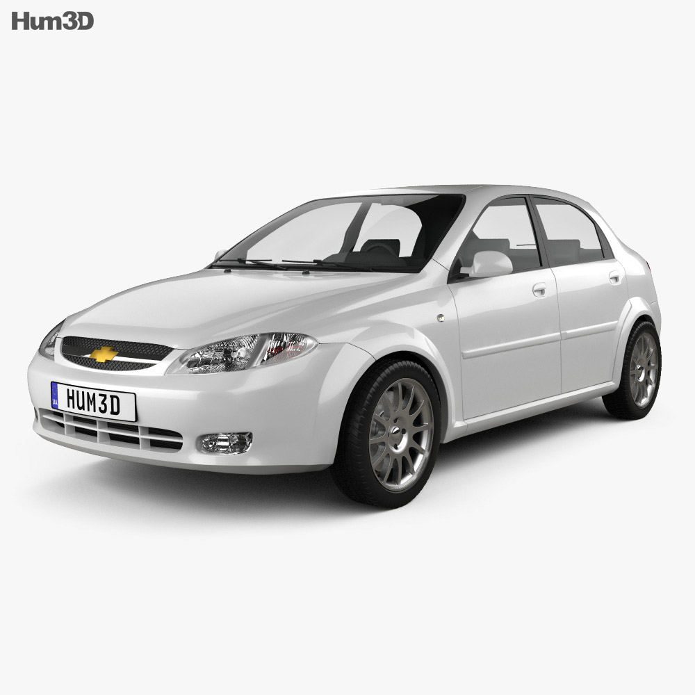 Chevrolet Lacetti Hatchback 2011 3d model