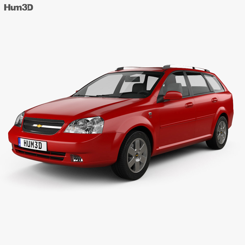 Chevrolet Lacetti Wagon 2011 3d model