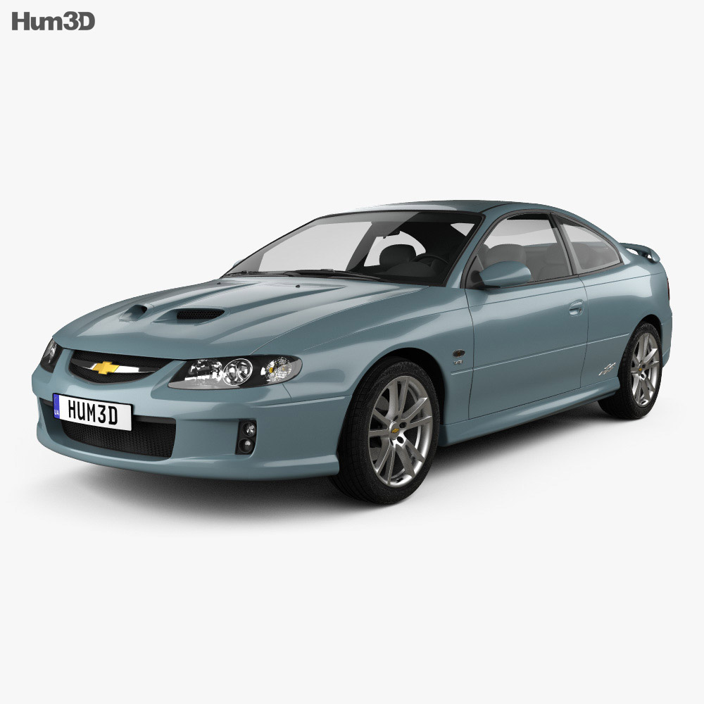 Chevrolet Lumina SS Coupe 2002 3D model  Hum3D