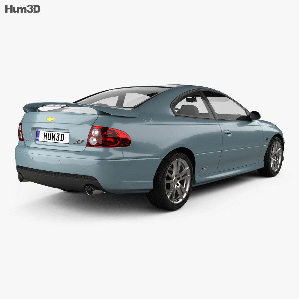 Chevrolet Lumina SS Coupe 2002 3d model