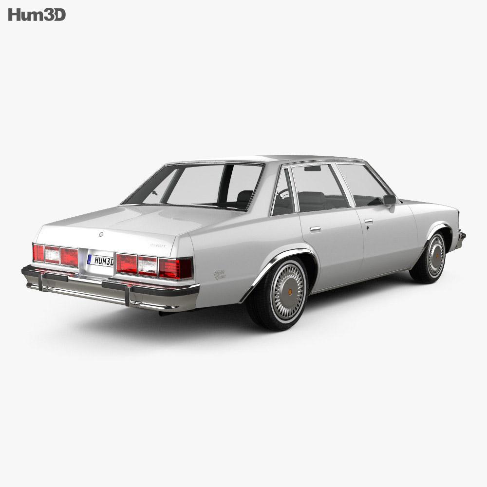 Chevrolet Malibu Classic Sedan 1979 3d model