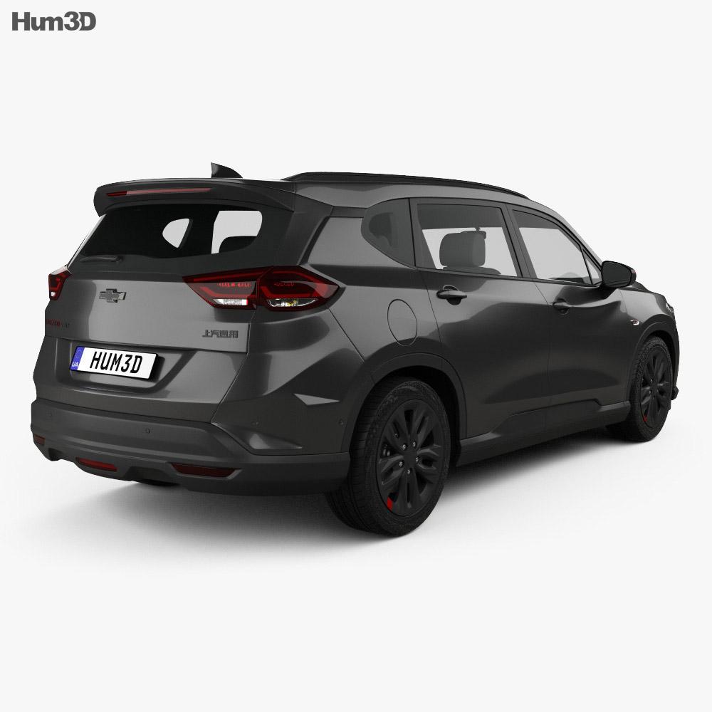 Chevrolet Orlando Redline 2018 3d model