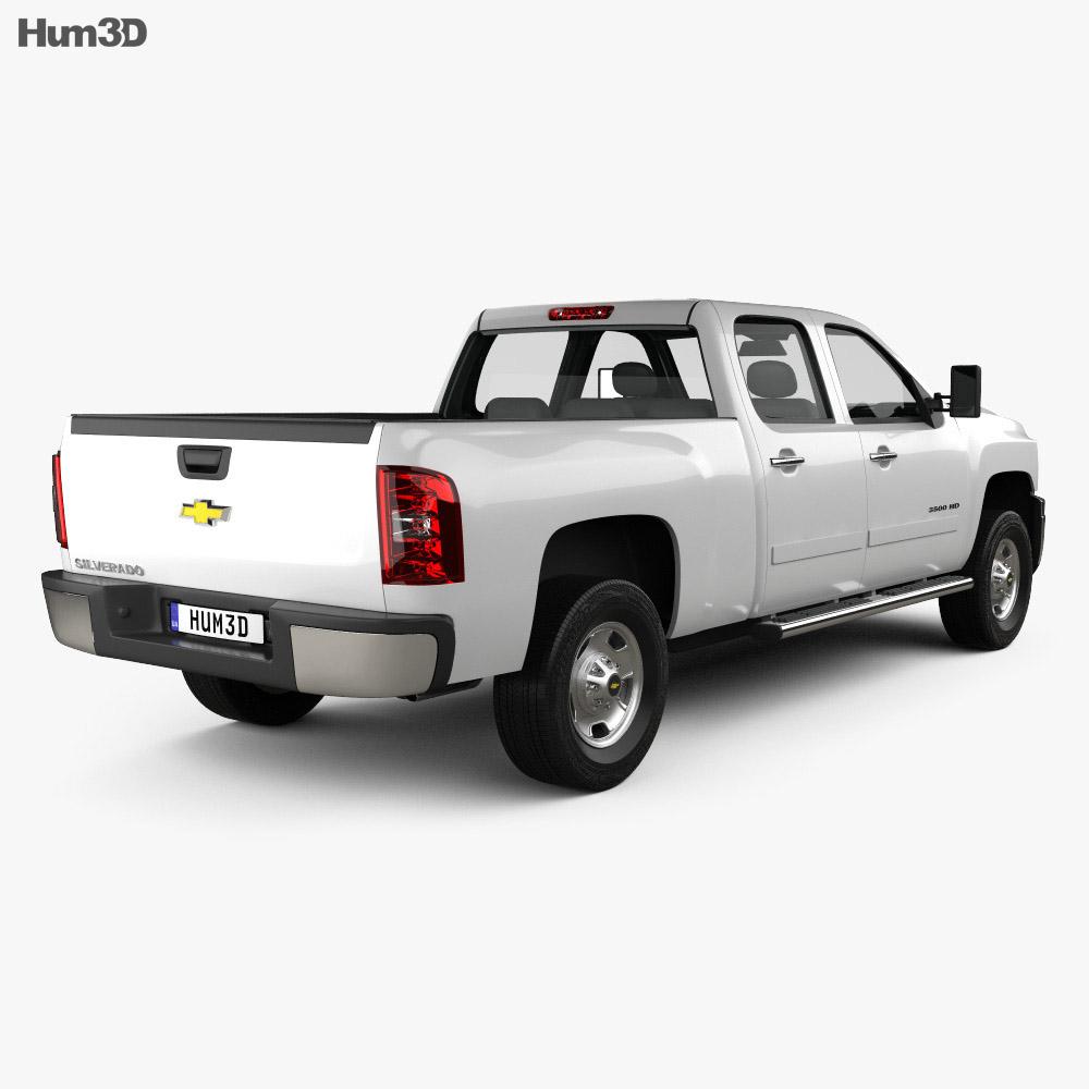 Chevrolet Silverado Crew Cab Standard Bed 2011 3d model