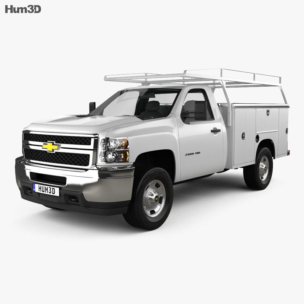 Chevrolet Silverado 2500HD Work Truck 2011 3d model