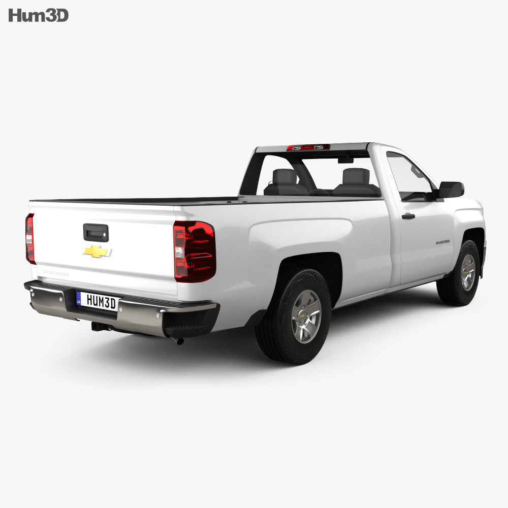 Chevrolet Silverado Regular Cab 2013 3d model