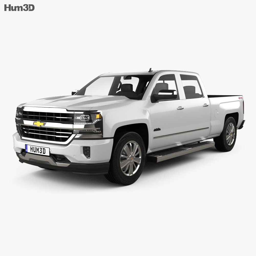 Chevrolet Silverado 1500 Crew Cab Standard Box High Country 2017 Model Vehicles On Hum