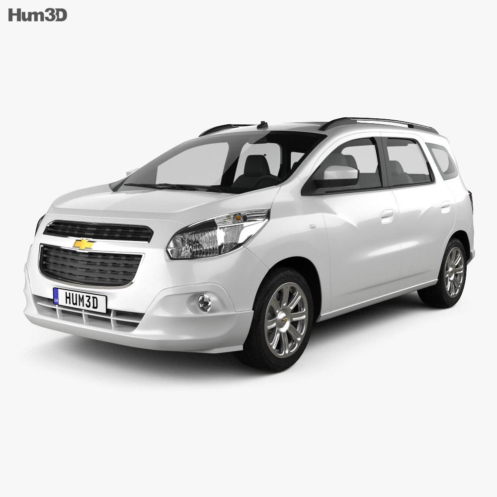 Chevrolet Spin 2012 3d model
