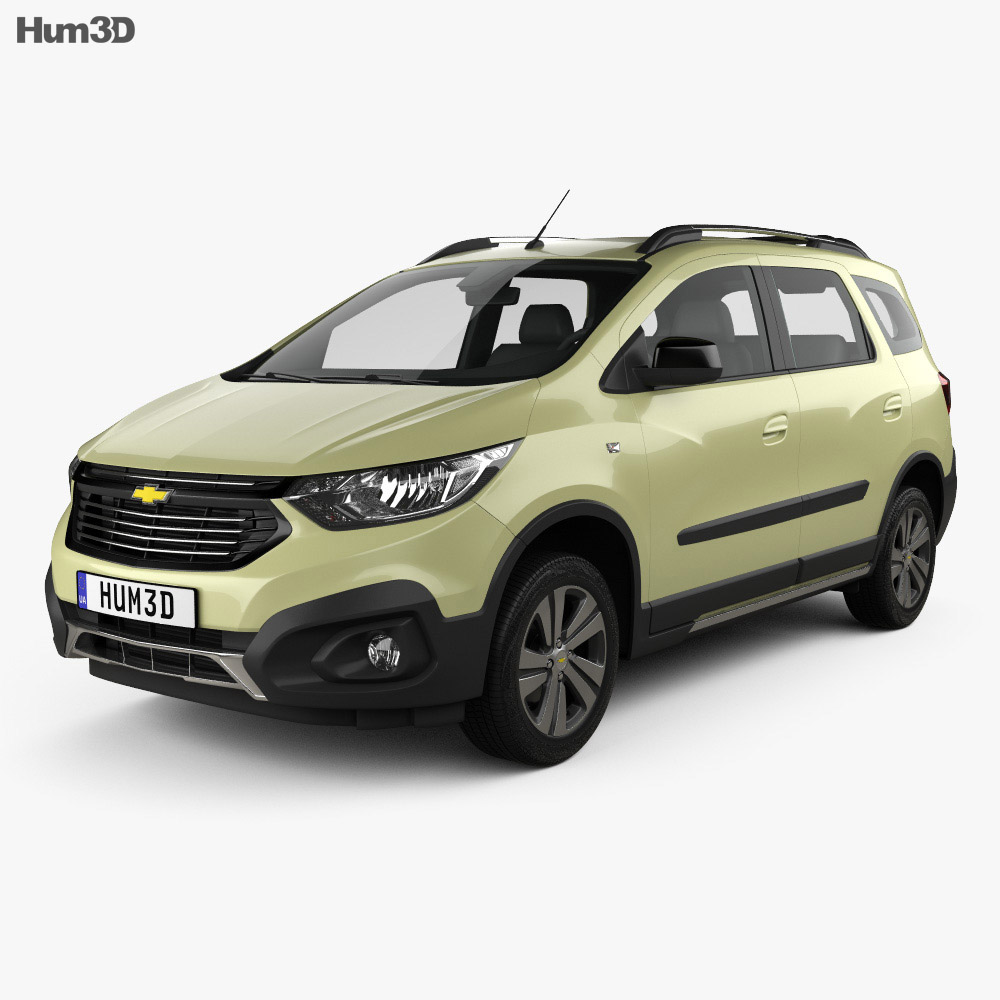 Chevrolet Spin Active 2018 3d model