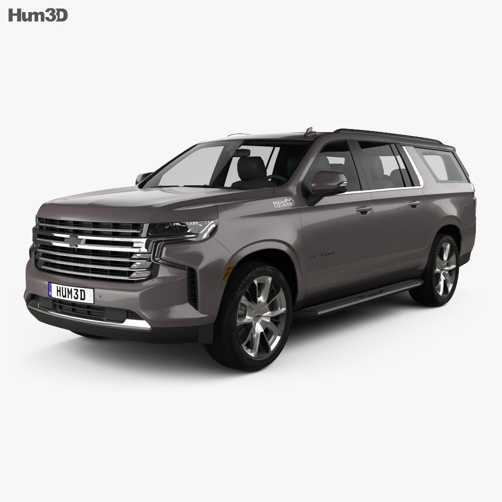 Chevrolet Suburban High Country 2020 3d model